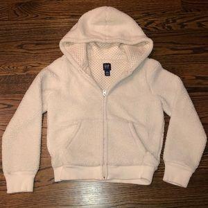 Sherpa zip up hoodie
